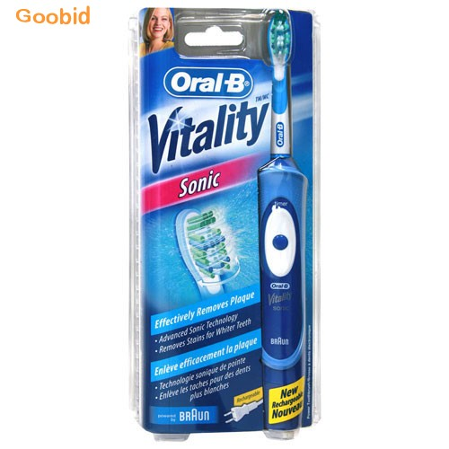 oral b vitality sonic electric toothbrush free postage. Black Bedroom Furniture Sets. Home Design Ideas